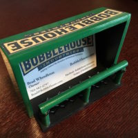 BobbleHouse Bobblehead business card holder
