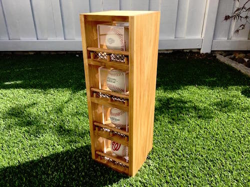 Baseball Display Cases