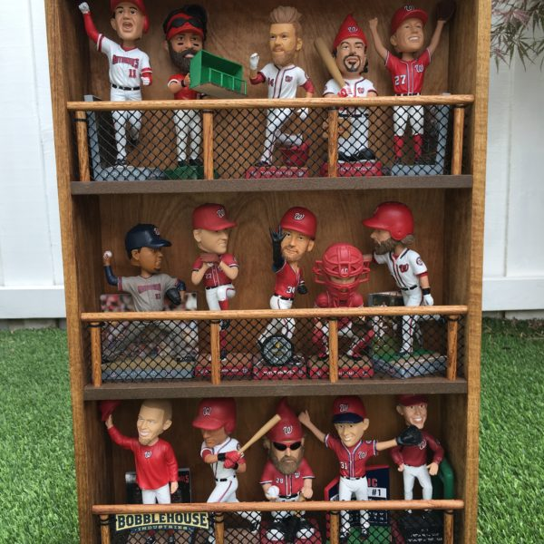 Out of shelf space? Bobbles on the wall! BobbleRack