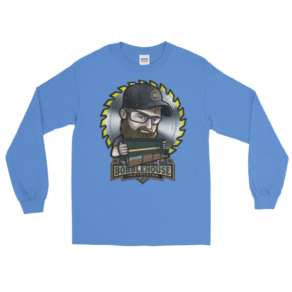 Tommy Bobbles 'Faded Logo' Long Sleeve T-Shirt