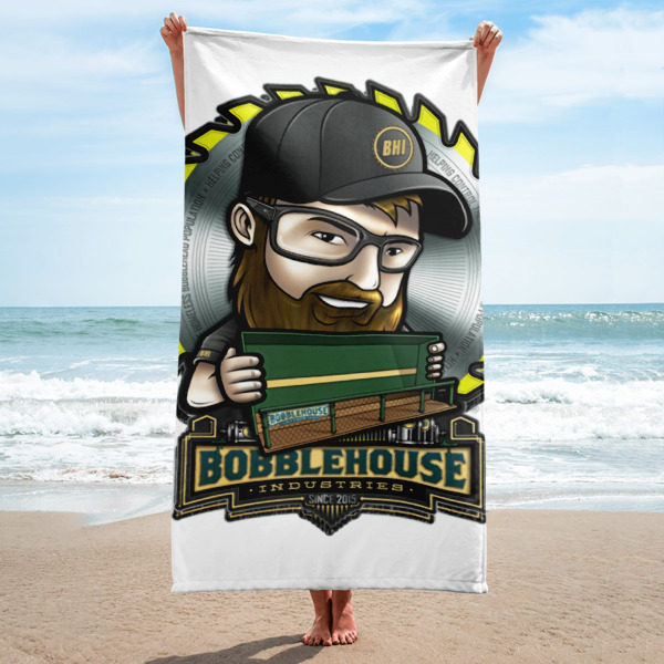 Tommy Bobbles Towel